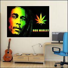 Bob Marley High Quality Colour Photo Vinyl Wall Art Sticker