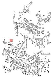 Genuine Connecting Plate Right AUDI R8 420805204B
