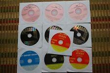 10 CDG DISCS KARAOKE ROCK CLASSICS CD+G - COME ON EILEEN, BACK IN BLACK CD 30i
