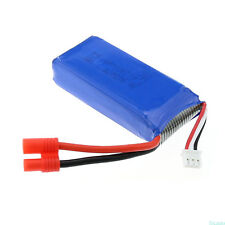 RC Part 7.4V 2400mAh 25C Lipo Battery for Syma X8C RC Helicopters Blue