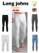 Mens Thermal Trousers Long Johns Underwear warm Baselayer, S M L XL XXL Thermals