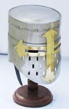 Medieval Knights Helmet Viking Templar Crusader Helmet Best Xmas Chris mes Gift
