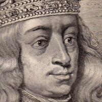 Portrait XVIIIe Philippe II D'Espagne Filips II van Spanje Count Of Hollande