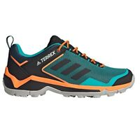 adidas Terrex Eastrail Mens Outdoor Hiking Trainer Shoe Blue/Black/Orange-UK 10