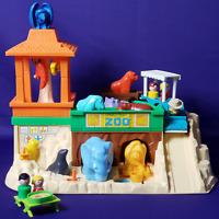 Fisher-Price 1984 Little People Zoo #916 Pretend Play Family Food Animals Set