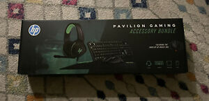 HP Pavilion Gaming Accessory Bundle Black - BRAND NEW Factory Sealed