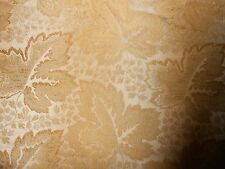 5+Y new LEE JOFA upholstery fabric MAPLE GROVE in AMBER with leaves pattern