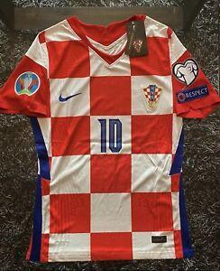 Croatia Modric Euro 2021 Jersey Medium Nike VaporKnit