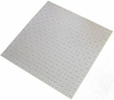 Dalsouple White Checkplate Indoor Highest Quality Smooth Rubber Tiles 682mm