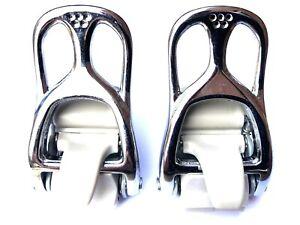 Nitro Raiden Snowboard Bindings Aluminium Ankle Ratchets x 2 - Chrome