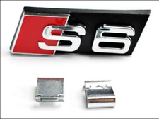 Audi S6 Sline 3D Metal Car Front Grill Decal Emblem Badge Sticker Sign Logo A6
