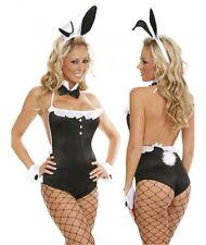 Costume Coniglietta Sexy donna Travestimento erotico Bunny HOT + COLLANT