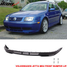 Fits 99-05 Volkswagen Jetta Mk4 Gli Style Front Bumper Lip - Polyurethane
