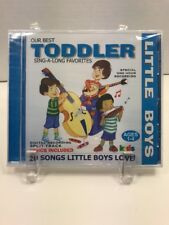 New Little Boys: Our Best Silly Songs Sing-A-Long Favorites by Little Boys CD