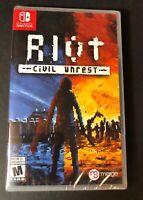Riot [ Civil Unrest ] (Nintendo Switch) NEW