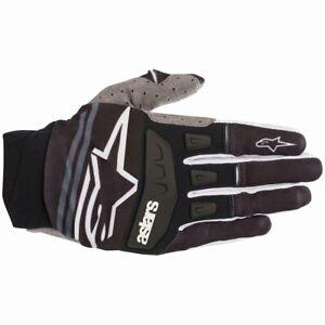 2019 Alpinestars Techstar MX Gloves - Black White