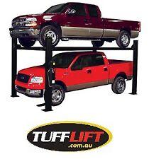 4 Ton Four Ton 4 Post Car Hoist, Car Lift, Vehicle Lift Workshop TUFFLIFT