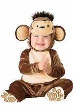 Incharacter Travieso Mono Bebé/Niño Disfraz Medio (12-18)