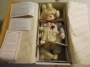 Precious Moments Tell Me The Story Of Jesus 1994 Doll The Hamilton Collection
