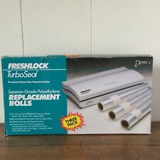 Deni Freshlock TuroSeal Model 1640 Replacement Roll Three Pack