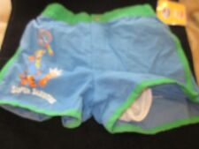 WDW DISNEY TIGGER SUPER SLEUTHS SWIM TRUNKS SWIM SUIT SIZE 4T BRAND NEW