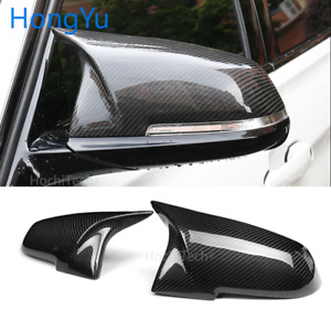 Carbon Fiber Pattern Mirror Cover Caps M Style For 2014-2018 BMW i3 i3S series