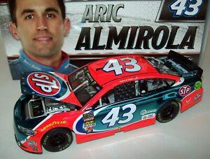 Aric Almirola 2017 STP  #43 Color Chrome Richard Petty Ford 1/24 NASCAR Diecast