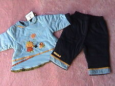 NWT Catimini Pomme d'Amour Winter Outfit Girls Padded Top Pants Set 12 mo
