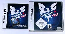 Spiel: TECKTONIK World Tour für Nintendo DS + Lite + Dsi + XL + 3DS 2DS