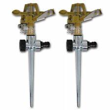 Sprinkler set met metalen pin (2 stuks) sproeier sproeiers tuinsproeier