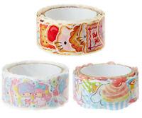Japan Sanrio Little Twin Stars / Cinnamoroll / Hello Kitty Roll Sticker Seal