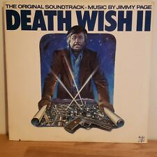 Death Wish II 1982 Swan Song Records Jimmy Page Zeppelin OG Inner Sleeve
