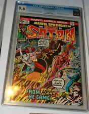 Marvel Spotlight #12  CGC 9.6 NM+  Origin of the Son of Satan  1973