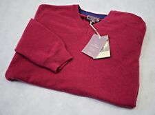 John Lewis Italian Cashmere V-Neck Sweater In Pink - All Sizes!