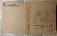 HP EliteDisplay E243 24 inch Widescreen IPS LED Monitor