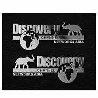 2pcs Discovery Logo Sticker Decal For TRAXXAS TRX4 Ford Land Rover Defender Car