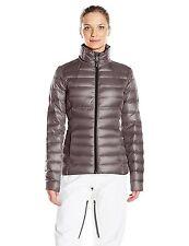 NWT Women's Gray  Spyder Prymo Down Jacket Ski  Size X-Small  XS Free Shipping