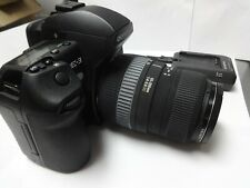 Olympus E-3 Camera with Sigma 55-200mm 1:4-5.6 DC Lens