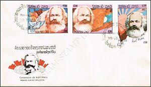 100th anniversary of Karl Marx's death -FDC(I)-I-