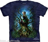 Night Shade Fairy Shirt, Dark Forest, Mountain Brand, In Stock, Small - 5X