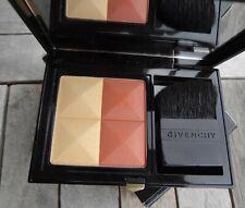 BNIB GIVENCHY Prisme Blush Powder Blusher Duo - 09 African Earth RRP £33