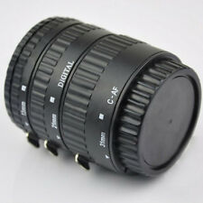 Meike MK-C-AF-B ABS AF Macro Extension Tube Set Ring Auto Focus For Canon DSLR