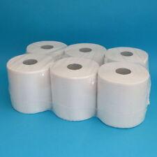 6 Handtuchrollen Midi 20cm 300m Spenderrollen Handtuchpapier 1-lagig weiß