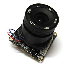 HD IP Camera Module 960P 1.3MP CCTV IPC PCB Board Hi3518E + 3MP 4mm CS lens IRC