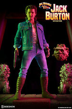 JACK BURTON BIG Trouble in Little China Sideshow/Hot Toys 1/6 Figura da collezione