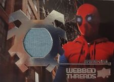 SPIDER - MAN HOMECOMING Webbed Threads Memorabilia Card WTS1 Homemade Suit