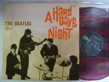 RED VINYL / THE BEATLES A HARD DAYS NIGHT / ODEON