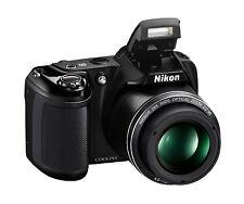 Digital Camera Photo Photography Video Nikon Coolpix 28x Optical Zoom L340 Black