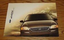 Original 1999 Ford Windstar Sales Brochure 99