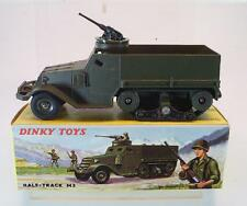 DINKY TOYS France militaire 822 HALF TRACK M 3 with M.G. neuf dans sa boîte #6054
